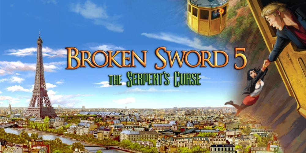 Broken Sword 5 – the Serpent's Curse launches today on Nintendo Switch